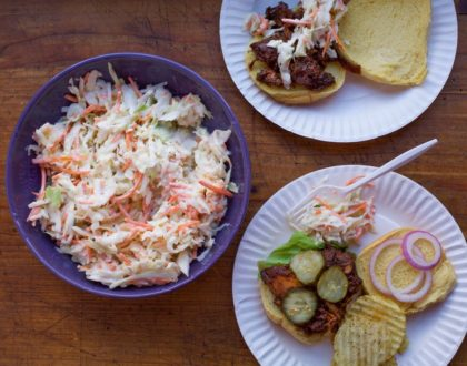 Apple Maple Cole Slaw