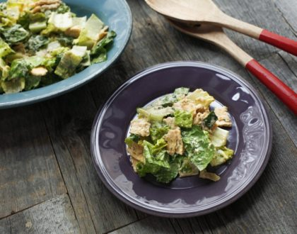Lightened-Up Caesar Salad