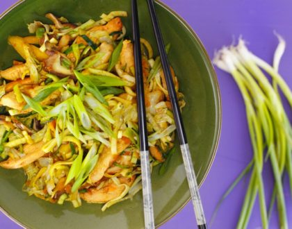Zoodle Stir-Fry