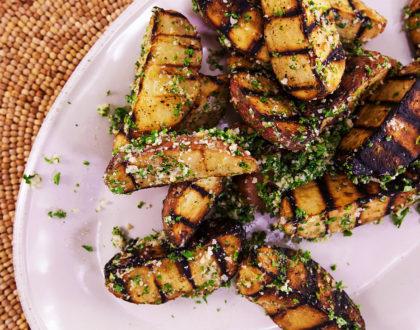 Grilled Garlic Fries