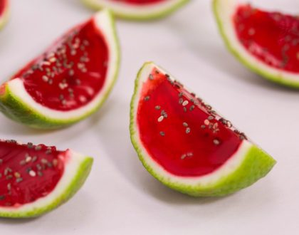 Watermelon Jell-O Shots
