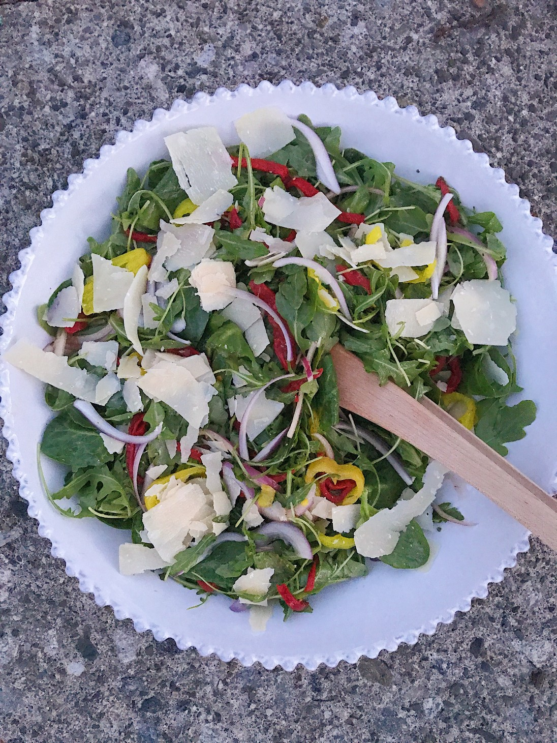 Not-Your-Average Pizzeria Salad