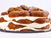 Pumpkin Donut Icebox Cake