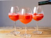 Watermelon Aperol Spritz Cocktail
