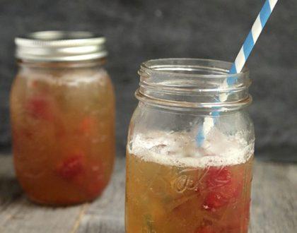 Spiked Raspberry Iced Tea Lemonade
