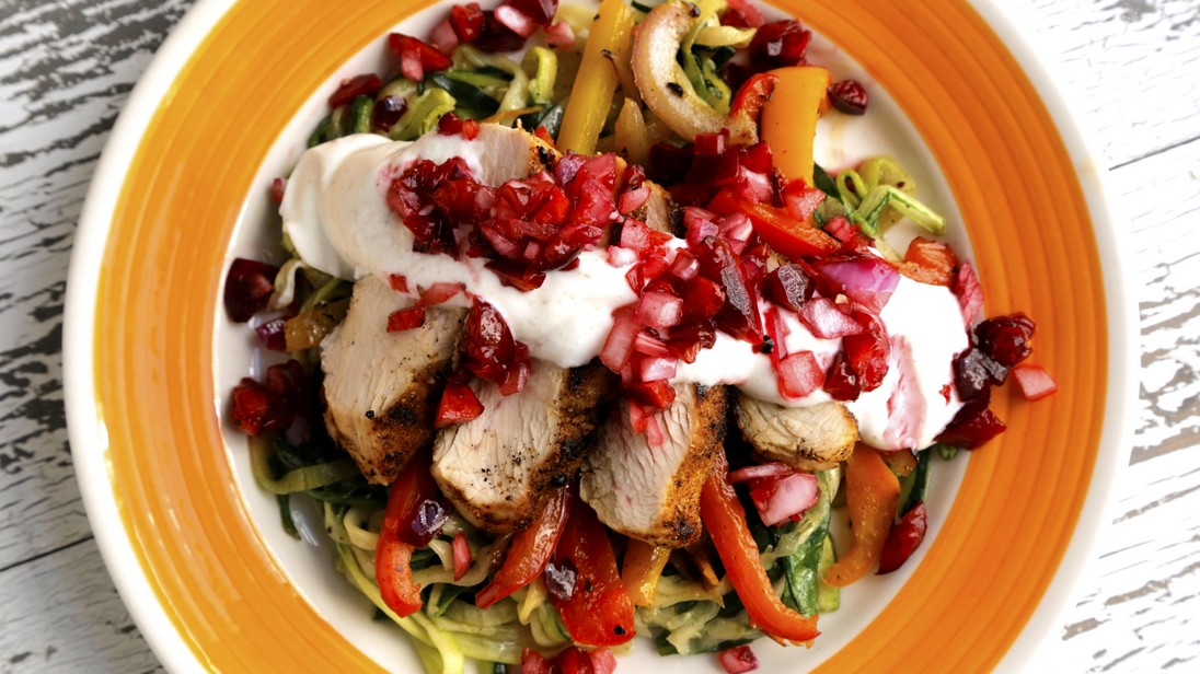 15-Minute Mexican Grilled Chicken and Veggies
