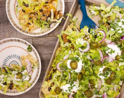 Turkey Dinner Nachos