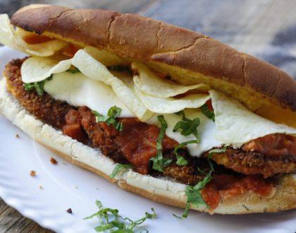 Squash Parm Sandwich